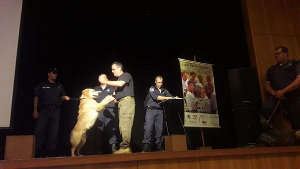 tn_Cães da Guarda Civil participam de evento filantrópico